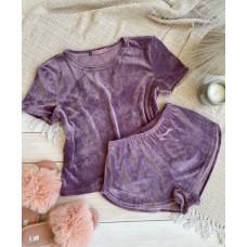 мод 076   футболка +шорты  076-3