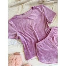 мод 076   футболка +шорты  076-4