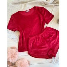 Невероятно нежные и прятные к телу бархатные пижамки. Не упусти возможность заказать пижамку по скидке!!! Качественный пошив! Модель  076-5