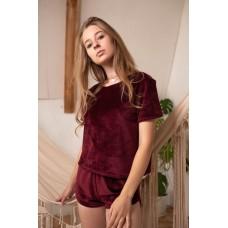 Невероятно нежные и прятные к телу бархатные пижамки. Не упусти возможность заказать пижамку по скидке!!! Качественный пошив! Модель 076-7