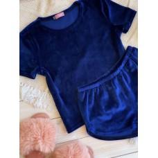 Невероятно нежные и прятные к телу бархатные пижамки. Не упусти возможность заказать пижамку по скидке!!! Качественный пошив! Модель   076-8