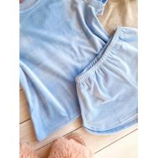 мод 076   футболка +шорты  076-11