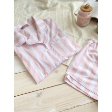 мод 082 Рубашка (Короткий рукав) +шорты 082-2