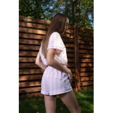 мод 082 Рубашка (Короткий рукав) +шорты  082-3