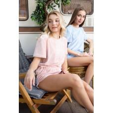 мод 076   футболка +шорты    076-21