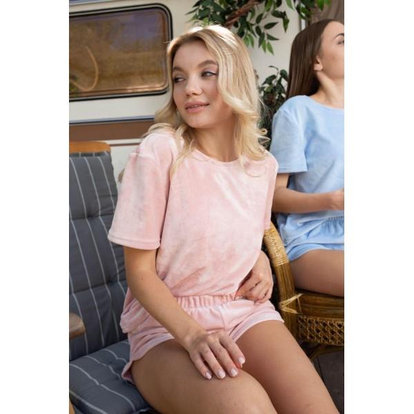 Невероятно нежные и прятные к телу бархатные пижамки. Не упусти возможность заказать пижамку по скидке!!! Качественный пошив! Модель  076-21