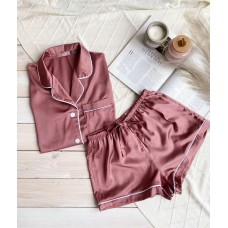 мод 083 Рубашка (Короткий рукав) +шорты -083-1