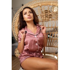 мод 083 Рубашка (Короткий рукав) +шорты -083-2