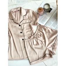 мод 083 Рубашка (Короткий рукав) +шорты -083-11