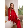 Бархатный набор пижама +халат|от Christel ua|Доступная цена|