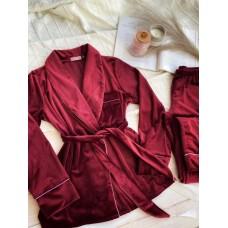 Невероятно нежные и прятные к телу бархатные пижамки. Не упусти возможность заказать пижамку по скидке!!! Качественный пошив! Модель  090-29