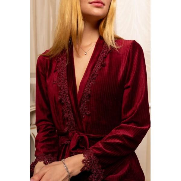 Невероятно нежные и прятные к телу бархатные пижамки. Не упусти возможность заказать пижамку по скидке!!! Качественный пошив! Модель 092-4
